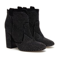 LAURENCE DACADE | 'Pete' Studded Suede Ankle Boots | Browns fashion & designer clothes & clothing