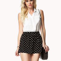 Polka Dot Combo Romper