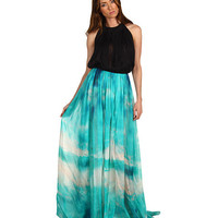 Just Cavalli Blowing In The Wind Gown