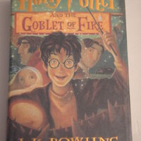 Harry Potter and the Goblet of Fire Year 4 by J. K. Rowling - First Edition