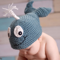 Waverly the Whale Hat/Beanie Crochet PATTERN 0-Adult