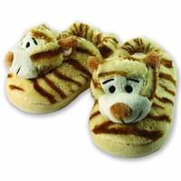 The Babymio Collection Slippers, Jax the Tiger, 24 Months:Amazon:Baby
