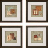 "Paragon Nature Collage by Anonymous Contemporary Art (Set of 4) - 19"" x 19"" - 7295 - All Wall Art - Wall Art & Coverings - Decor"