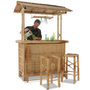 The Genuine Bamboo Tiki Bar - Hammacher Schlemmer