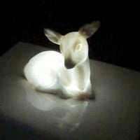 Deer nightlight by laurawallstaylor on Etsy
