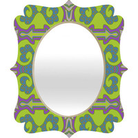 DENY Designs Home Accessories | Paula Ogier Ginger Jar Quatrefoil Mirror