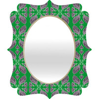 DENY Designs Home Accessories | Paula Ogier Jade Quatrefoil Mirror