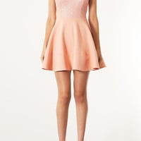 Sequin Bodice Skater Dress - New In This Week - New In - Topshop USA