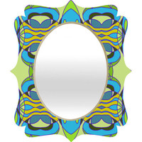 DENY Designs Home Accessories | Paula Ogier Mardi Gras Quatrefoil Mirror