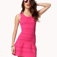 Flared Bodycon Dress
