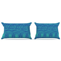 Catherine Holcombe &quot;Beach Blanket Confusion&quot; Pillow Case | KESS InHouse