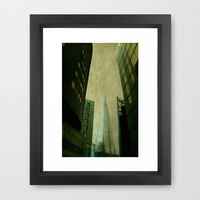 Shard Framed Art Print by Ally Coxon