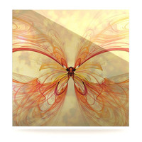 Alison Coxon &quot;Papillon&quot; Luxe Square Panel | KESS InHouse