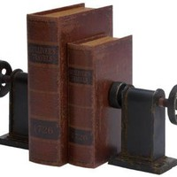 Industrial Bookends - Set of 2 - Bookends - Home Accents - Home Decor | HomeDecorators.com