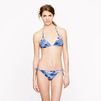 Hawaiian sunset string top - swim - Women&#x27;s new arrivals - J.Crew