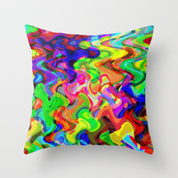 Melting Pot 2 Throw Pillow by Glanoramay