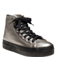 Vero Platform Sneaker - Pewter - SALE | GYPSY WARRIOR
