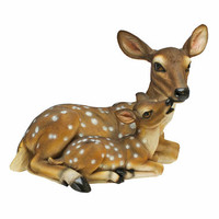 Mothers Love, Doe and Fawn Sculpture - QL55949                       - Design Toscano
