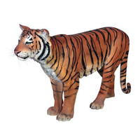 Powerful Pounce: Sumatran Tiger Statue - NE100078                       - Design Toscano