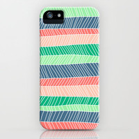 Beach Stripe (Spring) iPhone &amp; iPod Case by Jacqueline Maldonado