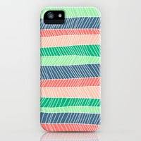 Beach Stripe (Spring) iPhone & iPod Case by Jacqueline Maldonado