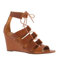 Caryn gladiator wedges - size 5 - Women&#x27;s sizes 5 and 12 shoes - J.Crew