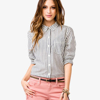Vertical Stripes Shirt