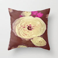 Somewhere in Time Throw Pillow by Ann B.