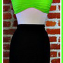 Neon Green Bandeau