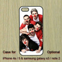 One Direction --iPhone 4 case , iPhone 4S case , iPhone 5 case , Samsung Galaxy S3 case , Samsung Galaxy S4 case , Samsung Galaxy Note2 case