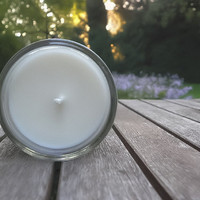 Ginger Grass pure essential oil soy candle - Fresh, citrus scent. Spring, summer home