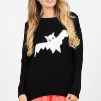 Bat Sweater in Black