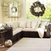 Seagrass 5-Piece Sectional | Pottery Barn