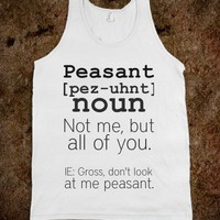 Definition of Peasant