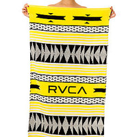 RVCA Beach Towerl Black Yellowe Cream