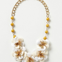 Camellia Bib Necklace