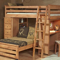 Henry Lee Twin Student Loft Bed