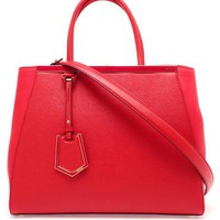 FENDI | '2 Jour' Grained Leather Shopper Bag | Browns fashion & designer clothes & clothing