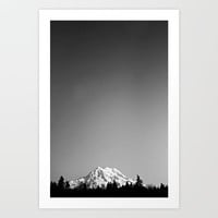 Mt. Rainier Art Print by Sara Montour
