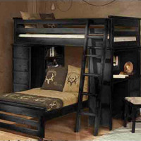 McCormick Road Twin Student Loft Bed