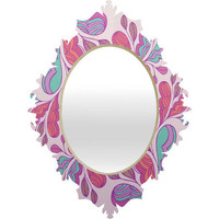 DENY Designs Home Accessories | Gabi Wings 1 Baroque Mirror