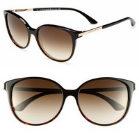 Women's kate spade new york 'shawna' 56mm sunglasses