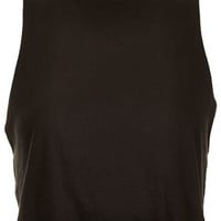 Basic Crop Tank Top - Jersey Tops  - Clothing