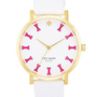 kate spade new york &#x27;metro grand&#x27; bow dial watch, 38mm | Nordstrom