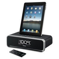 iHome Docking FM Dual Alarm Clock Radio for iPhone, iPad, iPod