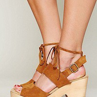 Free People  Dover Suede Clog at Free People Clothing Boutique