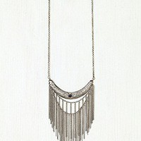 Stone Moon Fringe Collar at Free People Clothing Boutique