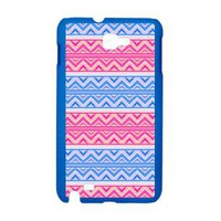Blue Pink Aztec, Galaxy Note Case&gt; Galaxy Note Cases&gt; Ornaart