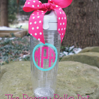 Monogram Tervis Water Bottle