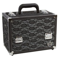 Caboodles Black LACE CASE - 11.25&#x27;&#x27;